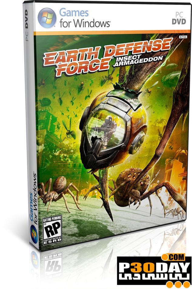 دانلود بازی Earth Defense Force Insect Armageddon 2011 + کرک