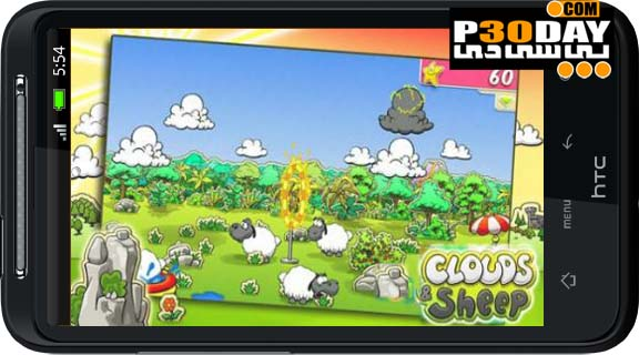دانلود بازی جالب گوسفند ناقلا Clouds & Sheep Premium آندروید
