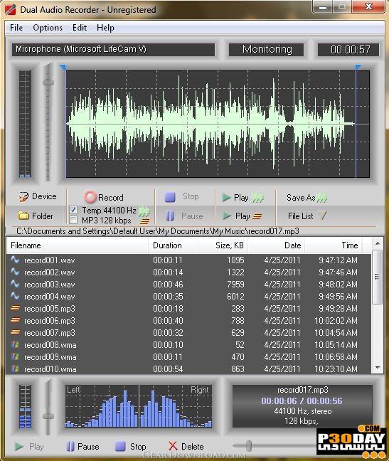 دانلود Adrosoft Dual Audio Recorder 2.4.3 – نرم افزار ضبط صدا