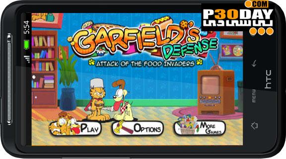 دانلود بازی جالب و بسیار زیبای Garfield's Defense آندروید