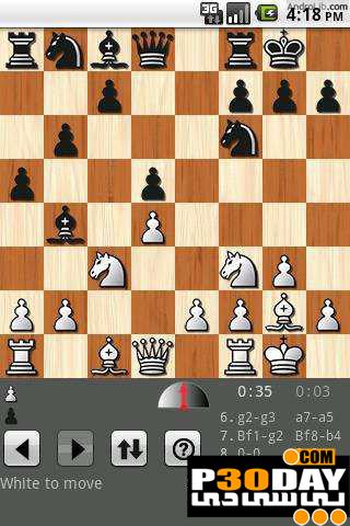 بازی جدید و بسیار زیبای شطرنج Shredder Chess v1.2 آندروید