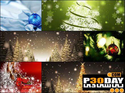 دانلود تم کریسمس Merry Christmas 2013 Theme v1.0 برای ویندوز 7