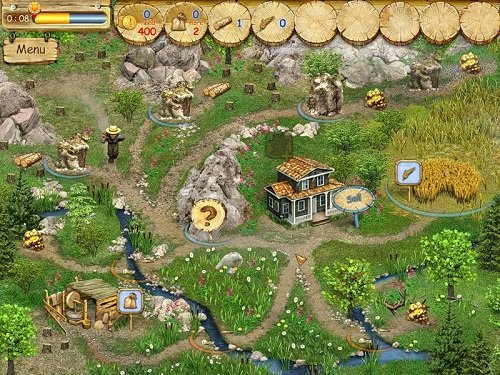 دانلود بازی پیشگامان زمین بصورت شبیه سازی شده Pioneer Lands Portable