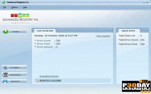 دانلود نرم افزار رفع نواقص رجیستری Advanced Registry Fix 4.0