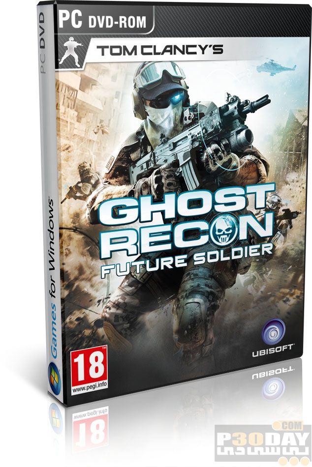 دانلود بازی Tom Clancys Ghost Recon Future Soldier 2012 + کرک