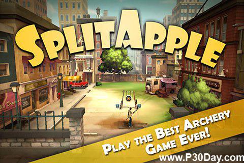 بازی جدید و بسیار زیبای SplitApple v1.1 آیفون