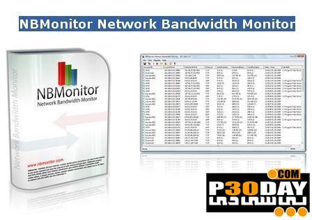 مشاهده ترافیک مصرفی با NBMonitor Network Bandwidth Monitor 1.3.1.0
