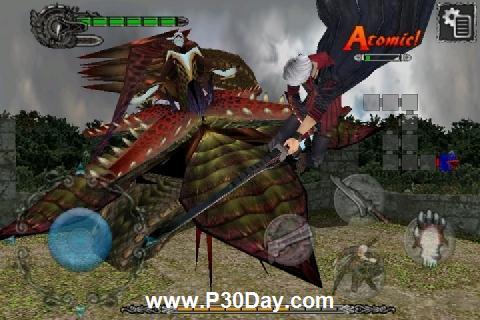 دانلود بازی جدید آیفون Devil May Cry 4 Refrain v1.01.00