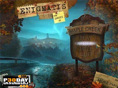 دانلود بازی Enigmatis: The Ghosts of Maple Creek – Collectors Edition