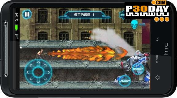 دانلود بازی جالب و بسیار زیبای Metal Gun Blood War v1.0 آندروید