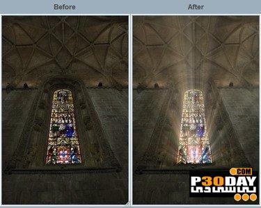 دانلود پلاگین ایجاد اشعه نور برای فتوشاپ DFT Rays v1.0.2 for Adobe