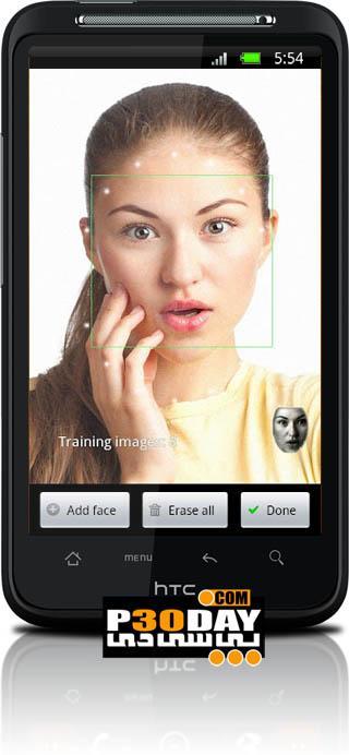 دانلود نرم افزار قفل گذاری گوشی FaceLock for apps Pro v2.7.1 آندروید