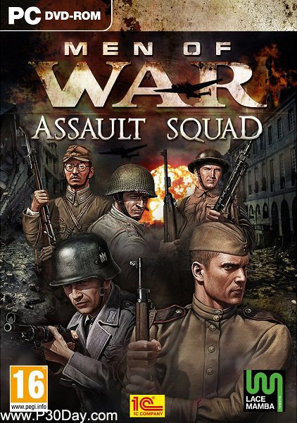 دانلود بازی Men of War Assault Squad