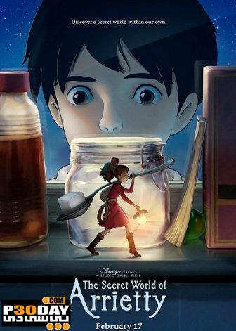 دانلود انیمیشن The Secret World of Arrietty 2011