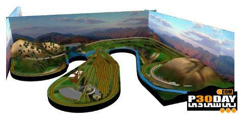 برنامه طراحی سه بعدی و شبیه ساز خطوط راه آهن 3rd PlanIt 9.04.006.2646