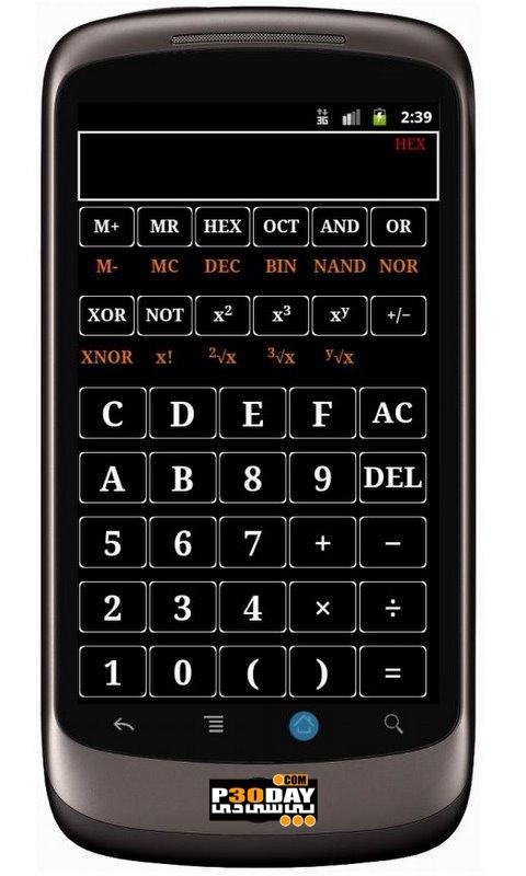 دانلود Scientific Calculator v4.5.4 - ماشین حساب علمی و حرفه ای برای اندروید