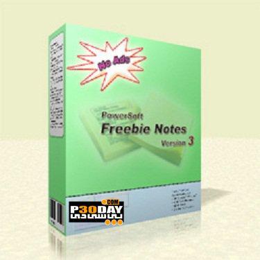 برنامه ثبت و یادداشت کارهای روزانه Freebie Notes 3.48