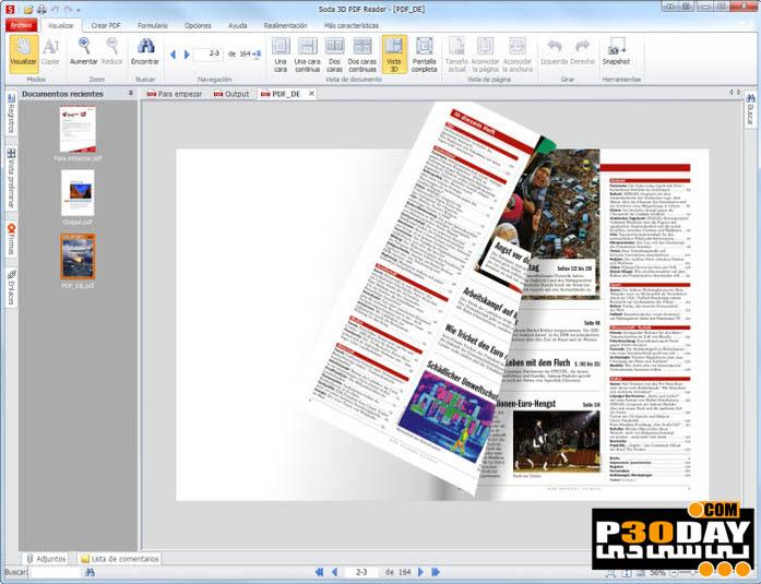 Soda PDF 3D Reader 7.0.9.21896 Final - نمایش سه بعدی PDF