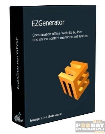 ساخت و مدیریت حرفه ای وب سایت با نرم افزار EZGenerator 4.0.0.442