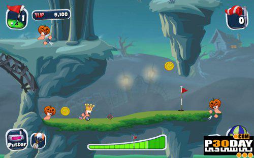 دانلود بازی Worms Crazy Golf 2011 با لینک مستقیم