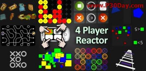 بازی 4 نفره واکنش 4Player Reactor 1.6.3