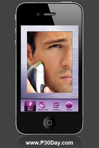 تبدیل موبایل آیفون به آینه با Mirror HD 2.0