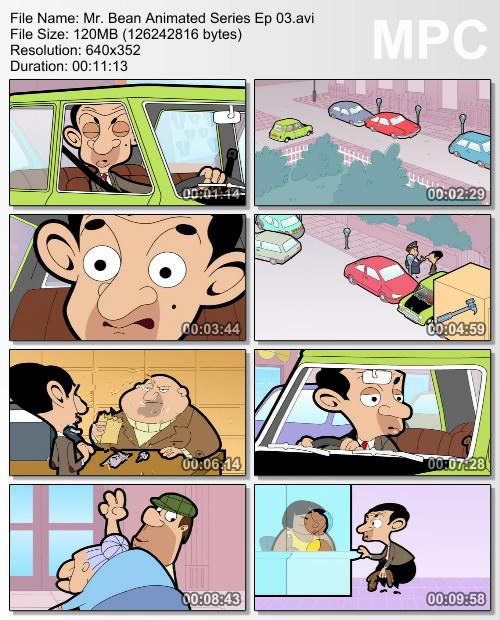 دانلود مجموعه کارتونی مستربین Mr. Bean: The Animated Series فصل اول
