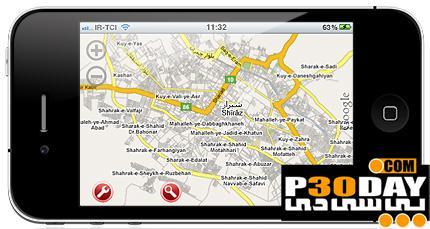 دانلود نقشه GPS آفلاین شهر های بزرگ ایران برای موبایل های آندروید و آیفون
