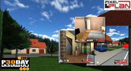 طراحی سه بعدی ساختمان Pixelplan Flow Architect Studio 3D 1.5.2 Portable