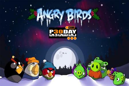 بازی فوق العاده Angry Birds Seasons: Wreck The Halls v2.1 سیمبیان 3