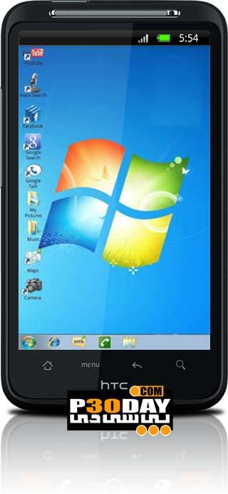 دانلود تم فوق العاده زیبا و جذاب Theme Windows 7 آندروید