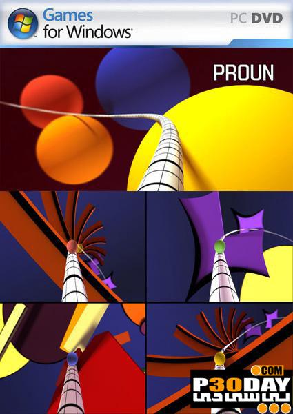 دانلود بازی کم حجم Proun v104
