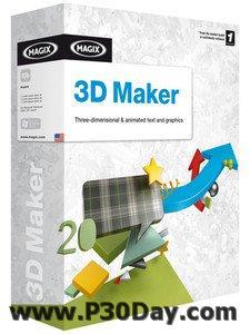 دانلود برنامه طراحی انیمیشن سه بعدی Magix 3D Maker v7.0.0.482