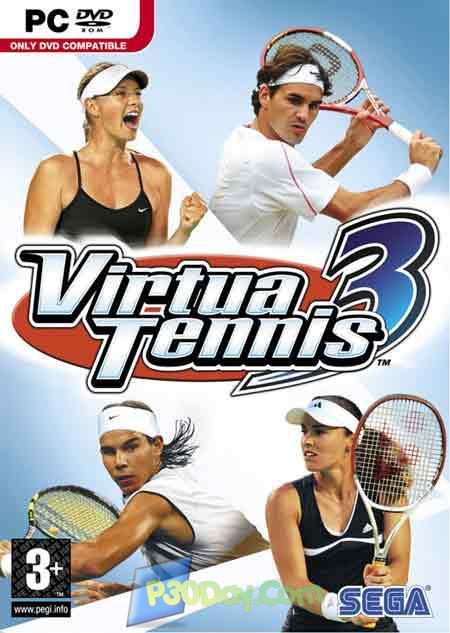 دانلود بازی زیبای تنیس Virtua Tennis 3 با لینک مستقیم + کرک