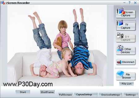 نرم افزار فیلم برداری از محیط دسکتاپ I Screen Recorder 8.0.1.12