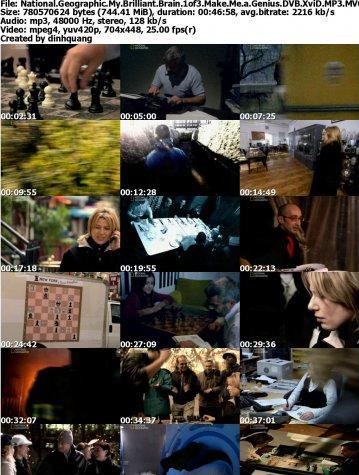دانلود مستند مغزهای درخشان National Geographic: My Brilliant Brain 2010
