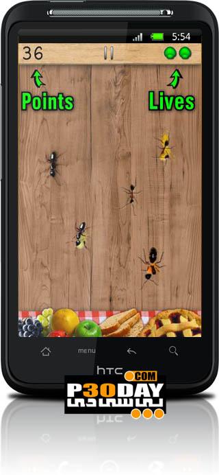 بازی جذاب کشتن مورچه ها Ant Smasher Cool Top Best Kids v3.2 آندروید