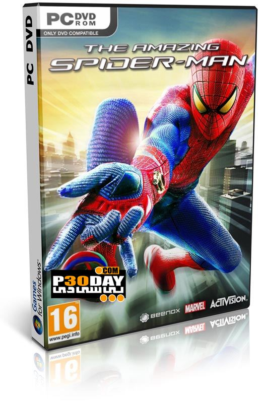 دانلود بازی The Amazing Spider-Man 2012 با کرک