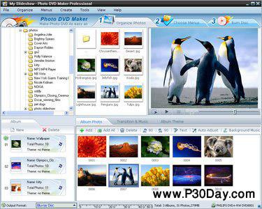 نرم افزار ساخت آلبوم عکس Photo DVD Maker Pro 8.20