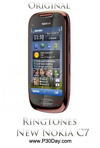 مجموعه صداهای زنگ اوریجینال گوشی Nokia C7
