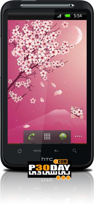دانلود والپیپر متحرک Sakura Pro آندروید
