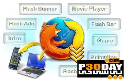 برنامه ذخیره فایلهای فلش Sothink SWF Catcher 2.0 Build 509