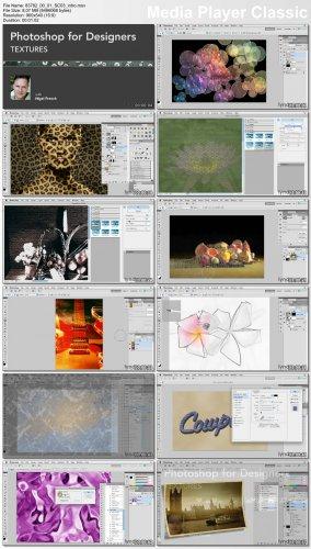 دانلود فیلم آموزشی استفاده و ساخت بافتهای گوناگون در فتوشاپ