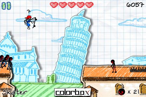 بازی کشتن زامبی ها مخصوص سیمبیان و آیفون Dalton The Awesome V1.06