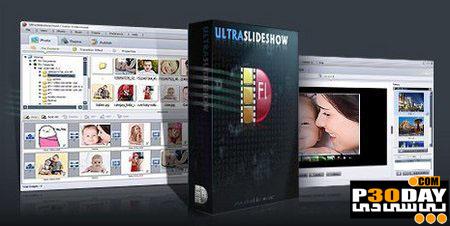 نرم افزار ساخت اسلاید فلش Ultraslideshow Flash Creator Professional 1.47