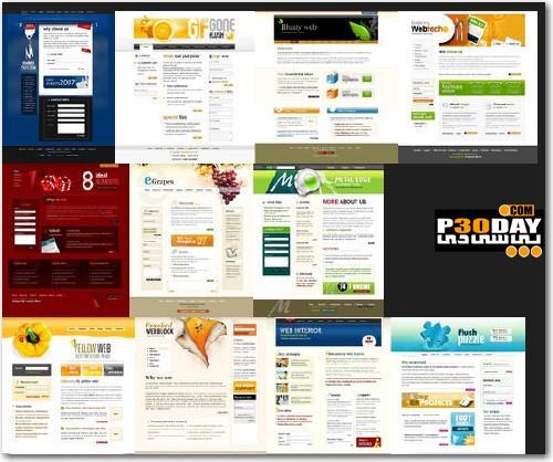 دانلود 49 قالب آماده وب 2 TemplateWorld - Web 2 Themes