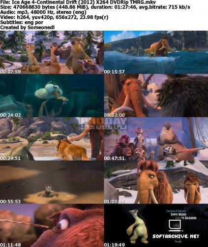 دانلود انیمیشن عصر یخبندان 4 - Ice Age 4: Continental Drift 2012