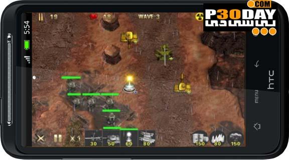 دانلود بازی جنگی و بسیار زیبای Army Defense v1.0.0 آندروید