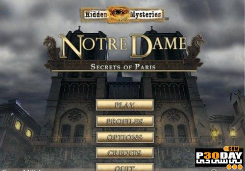 دانلود بازی Hidden Mysteries: Notre Dame Secrets of Paris Final