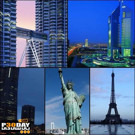 دانلود والپیپر از شهر و معماری های زیبا Cities and Architecture Full HD